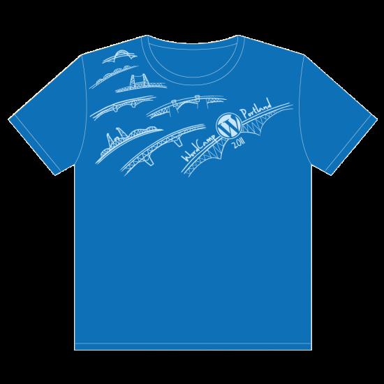 Official WordPress Portland 2011 Shirt