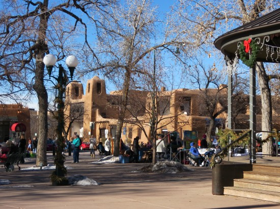 The Heart of Santa Fe, New Mexico
