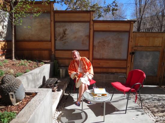 Paul in a Kimono