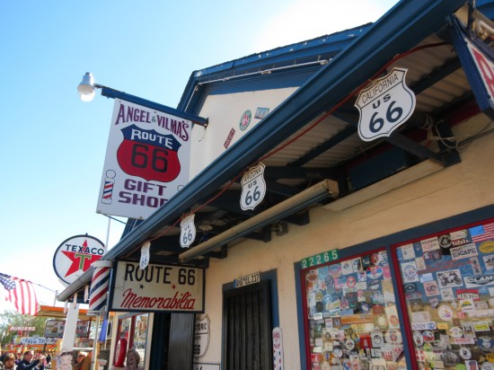 Angel & Vilma's Route 66 Gift Shop in Seligman, AZ