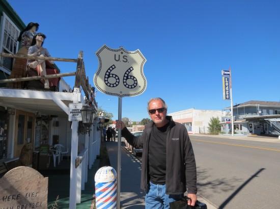 Route 66 in Seligman, AZ