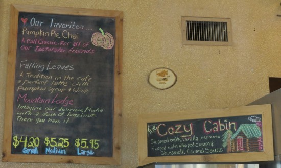 Perfect Pumpkin Pie Chai at the Coffee House