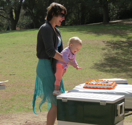 I'd say her Dora the Explorer Birthday cake was a hit...