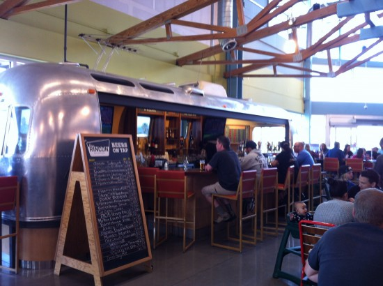Airstream Bar in Whole Foods (Oxnard)