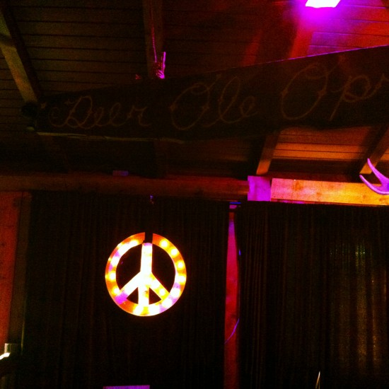 Deer Lodge Peace Sign