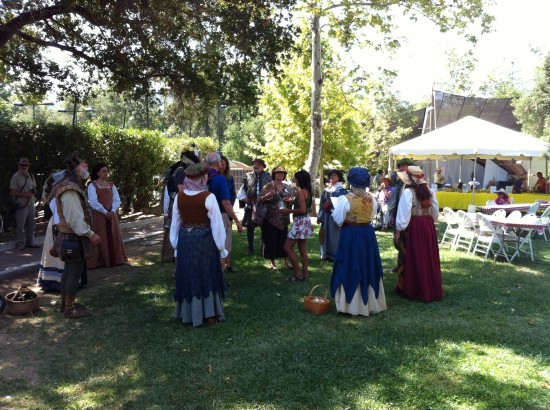 Madrigali at the Ojai Storytelling Festival