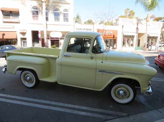 Yellow Truck on Main Street
