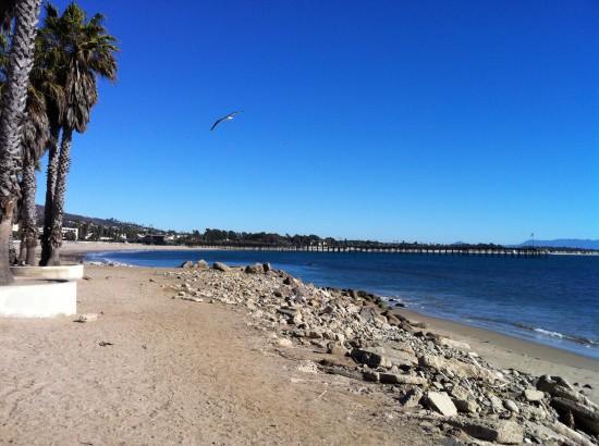 Surfer's Point in Ventura, CA