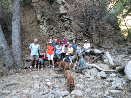 OVAC Hiking Group at Horn Trail