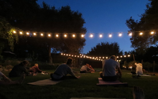 Yoga & Wine at Majestic Oak Vineyard