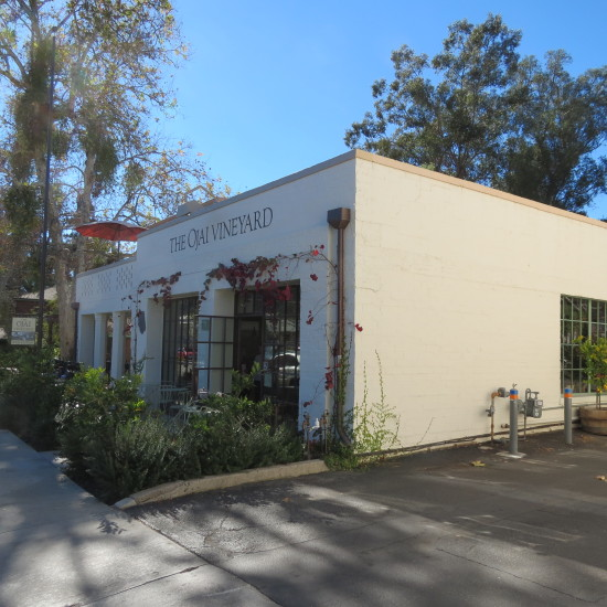 The Ojai Vineyard Tasting Room