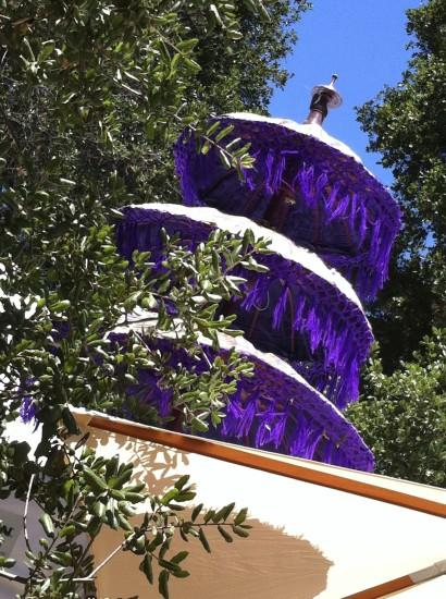 Lavender Festival Umbrella
