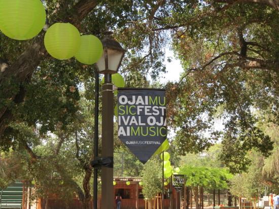 Ojai Music Festival Flag