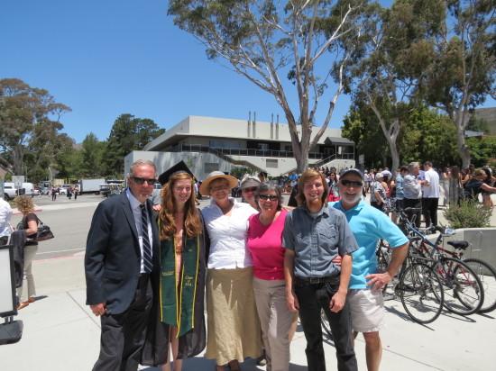 Emily's Cal Poly Graduation