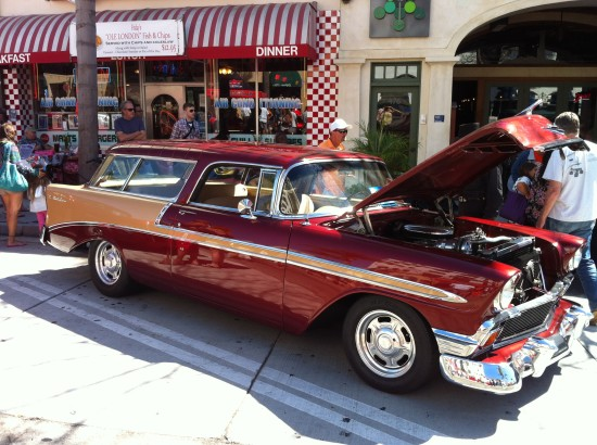 Classic Car Show in Ventura