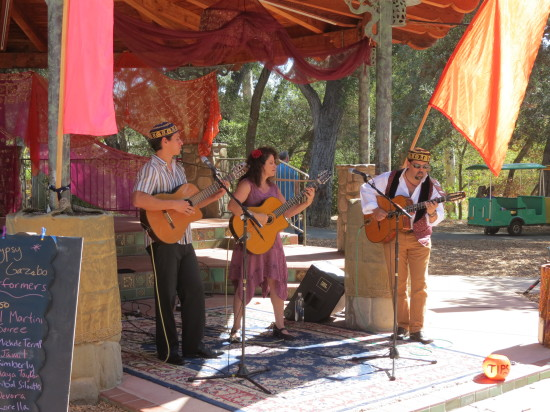 Singing Gypsies at Ojai Day