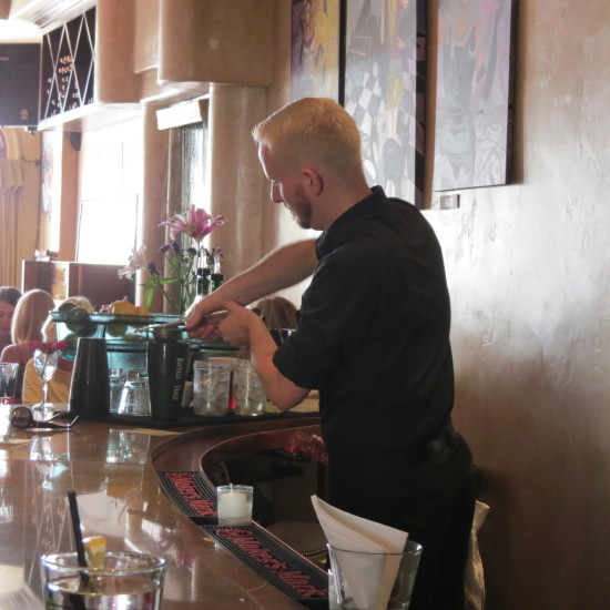 Jared, Tending Bar at The Vine