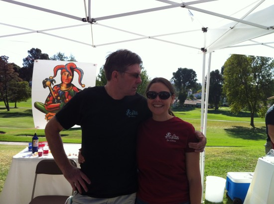 Nigel and Kara at Taste of Ojai