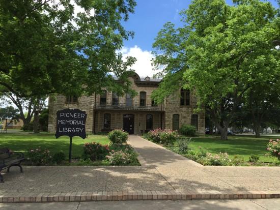 Pioneer Library in Fredericksburg