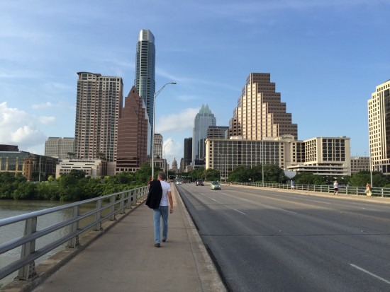Walking Into Austin